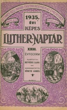 Képes Luther-Naptár 1935