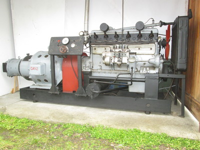 Klöckner-Humboldt-Deutz típusú generátor