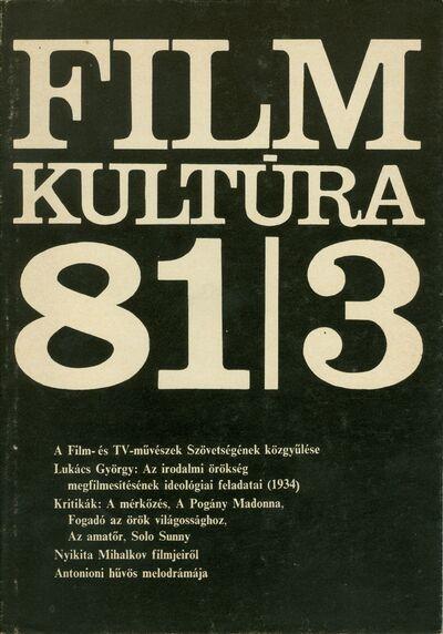Filmkultúra 1981/3. szám