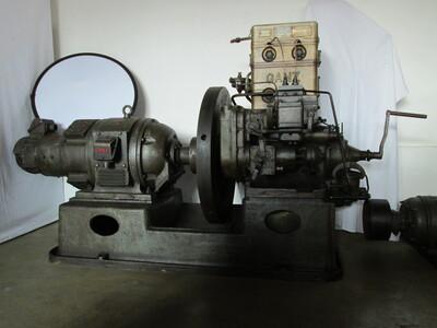 Ganz-Jendrassik típusú áramfejlesztő