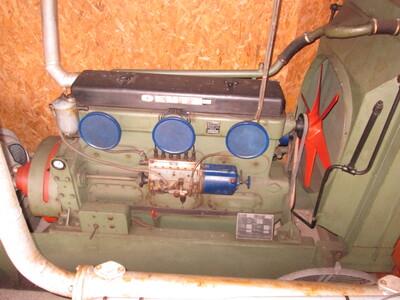 Klöckner-Humboldt-Deutz A.G.típusú generátor