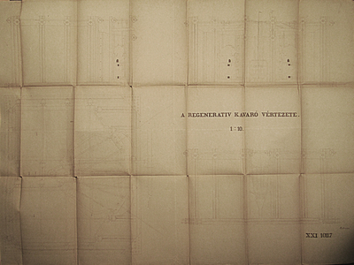 Az ózdi regeneratív tüzelésű kavarókemence vértezete_1898