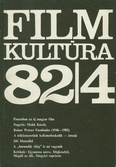 Filmkultúra 1982/4. szám