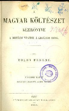 A magyar nyelv és irodalom kézikönyve