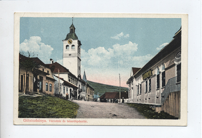 Városház és takarékpénztár, Gölniczbánya