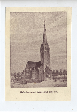 A Győr-Nádorvárosi evangélikus templom, Győr