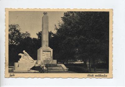Hősök emlékműve, Győr