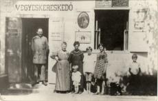 Warsz Ágoston Fűszer és Vegyeskereskedő Budapest 1927.