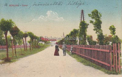 Balatonboglár, Corsó