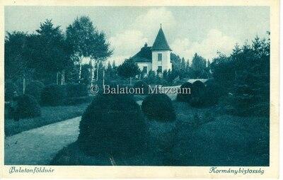 Balatonföldvár, Kormánybiztosság