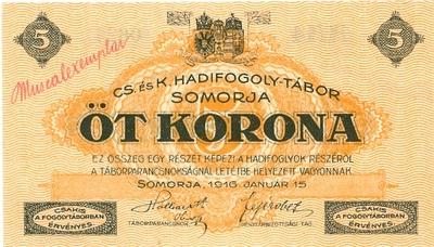 Somorjai szükségpénz