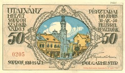 Soproni szükségpénz