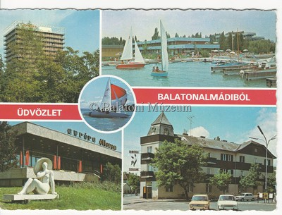 Üdvözlet Balatonalmádiból
