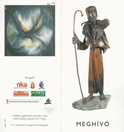 Meghívó a IV. Kortárs Keresztény Ikonográfiai Biennále országos képző- és iparművészeti kiállításra