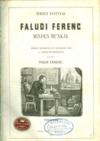 Faludi Ferenc minden munkái