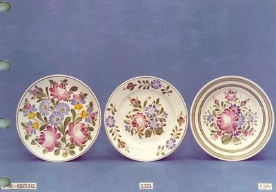 Kerámia /városlődi festett tányérok/