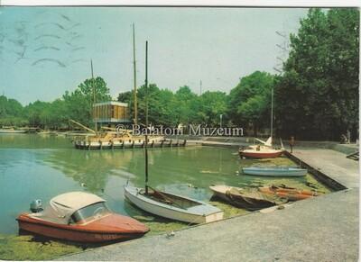 Balatonföldvár. Kikötő