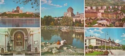 5a675f2176 Esztergom. Látkép. Főszékesegyház (XI-XIX.sz.) és Prímási palota