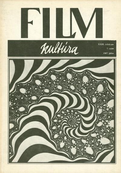 Filmkultúra 1987/7. szám