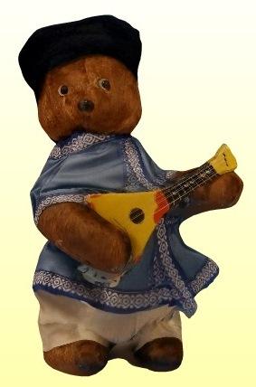 Orosz gitáros mackó