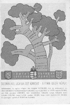 Finn-ugor népek családfája