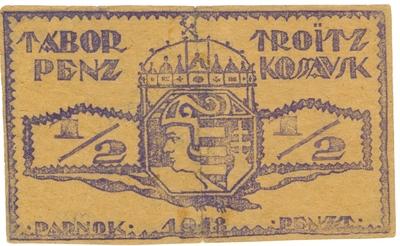 Troitz-Kossavski szükségpénz