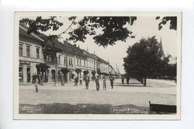 Igló, Hlavna utca részlet