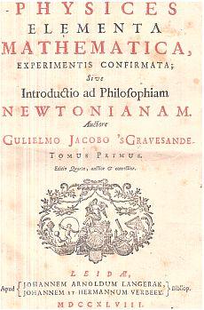 Physices Elementa Mathematica 1. T.