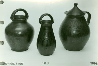 Vízmerő veder, házi locsoló, babfőző fazék fedővel