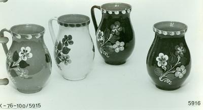 Sárospataki köcsögök és köcsög-váza
