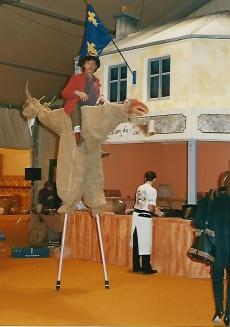 Egykori MKVM vendéglátóipari kiállítás Párizs 1990.