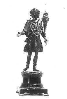 Fotó, Nagydém, Lar szobor