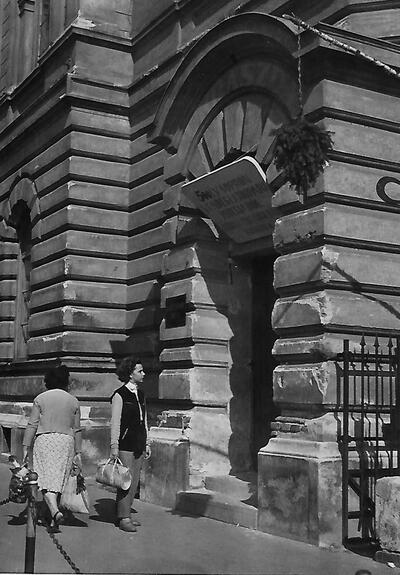 Egykori vendéglátóipari kiállítás Sopron 1958.