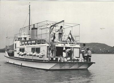 Balatoni hínár feltöltő hatását vizsgálják a Vituki hajóról