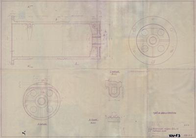Abroncssori mágnesdaru 4 t. Kötéldob. Átmérő 400