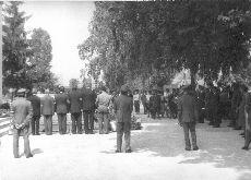 Fotó, Pápa, temetés