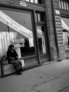 Szentesi utca eleje Hódmezővásárhelyen