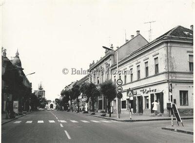 Kossuth utca felső része