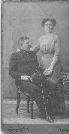 Lukács Géza finánc és felesége portréja, Pápa