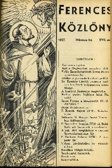 Ferences Közlöny 1937/03