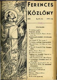 Ferences Közlöny 1938/04