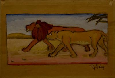 Két oroszlán