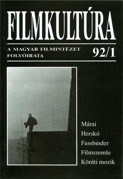 Filmkultúra 1992/1. szám