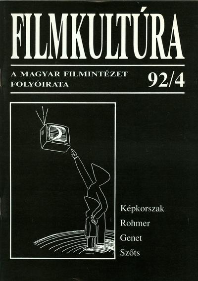 Filmkultúra 1992/4. szám