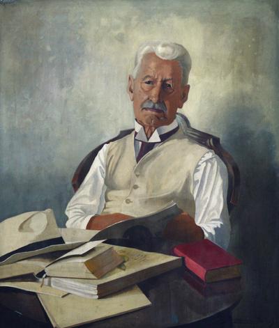 Gönczi Ferenc néprajzi író arcképe