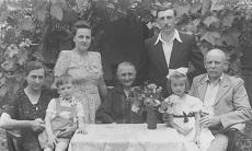 Rácz Péter és családja