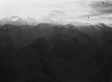 Látkép az Alpokban