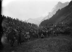 Cserkészek az Alpokban
