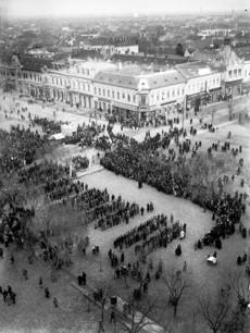 Ünnepély Kossuth téren