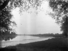 Tisza-part a cserkésztábornál